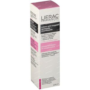 Lierac Prescription Crema Anti-Rossori Lenitiva Nutriente 40 ml