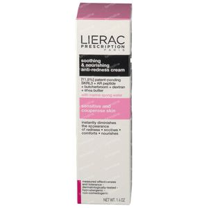 Lierac Prescription Anti-Redness Cream Soothing & Nourishing 40 ml