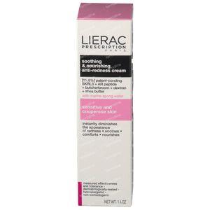 Lierac Prescription Crema Anti-Rojeces Calmante Nutritiva 40 ml