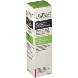 Lierac Prescription Mattifying Concentrated Gel Anti-Blemish 40 ml