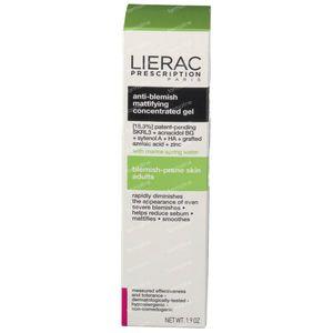 Lierac Prescription Mattifying Concentrated Gel Anti-Blemish 40 ml