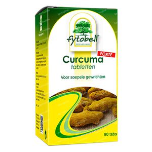 Fytobell Curcuma Forte 90 St compresse