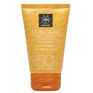 Apivita Sun Anti-Spot Gezichtscrème SPF50 50 ml Tube