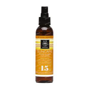 Apivita Sun Lichaamsolie SPF15 150 ml fles