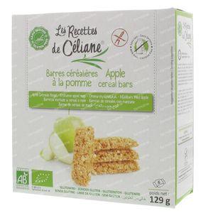 Celiane Cereal Bar Apple Bio 129 g