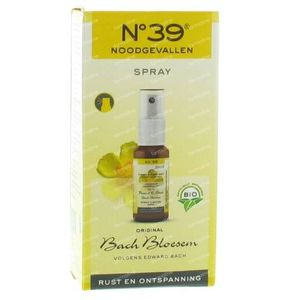 Bach Bloesem Bio N°39 Noodgevallen Spray 20 ml spray
