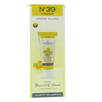 Fleurs de Bach N39 Urgence Crème Fluide 50 ml