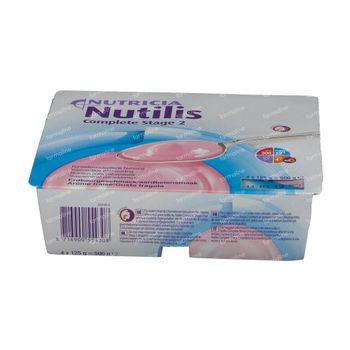 Nutilis Complete Stage 2 Fraise 4x125 g