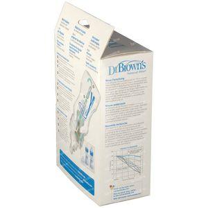 Dr Brown Fles Pp Blauw 480 ml