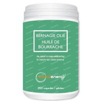 Natural Energy Huile De Bourrache 90  capsules