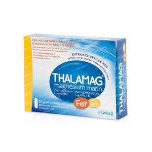 Thalamag Fer en B9 30 capsules