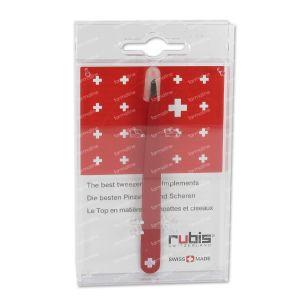 Rubis Pincet Breed Schuin Swiss 1 St