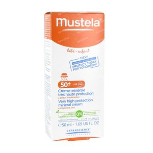 Mustela Baby Sun Cream Minerals Spf 50 50 ml