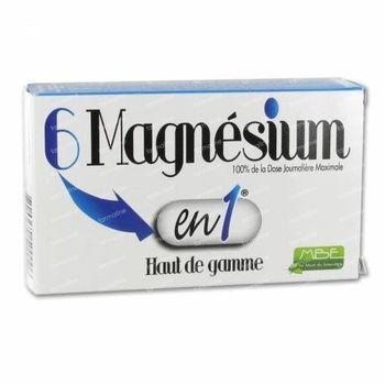 6 Magnésium en 1 60 comprimés