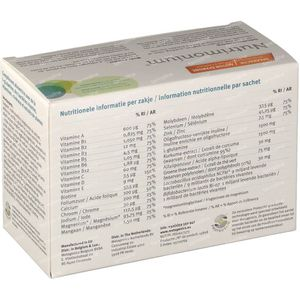 Nutrimonium vanille 14 zakjes