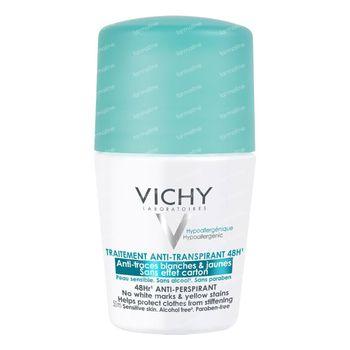 Vichy Deodorant Anti-Transpiratie Anti-Witte en Gele Vlekken 48h 50 ml roller