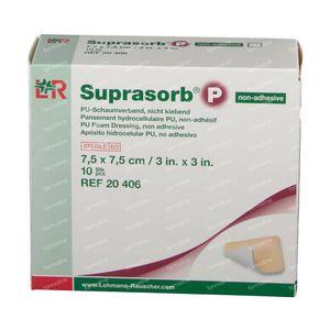 Suprasorb P 7.5 x 7.5cm 20406 10 pièces