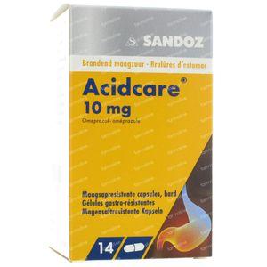 Acidcare Sandoz 10mg 14 tabletten