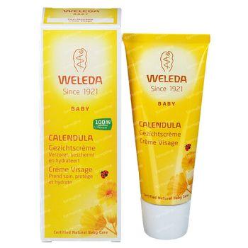 Weleda Baby Calendula Gezichtscrème Nieuwe Formule 50 ml