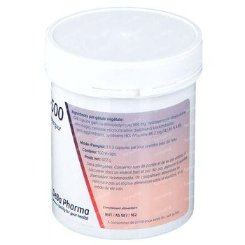 Deba Pharma Gaba 500 Mg 100 capsules