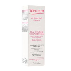 Topicrem Light Ultra-Moisturizing Face Cream 75 ml