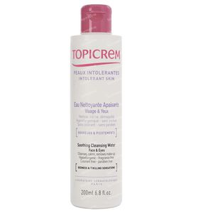 Topicrem Soothing Cleansing Water Face & Eyes 200 ml
