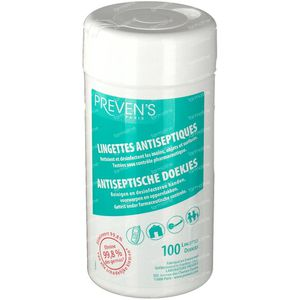 Prevens Antiseptic Wipes Mint Box 100 pieces