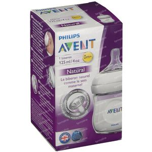 Philips Avent Natural Baby Bottle 125 ml