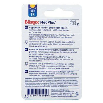Blistex Medplus 4,25 g stick