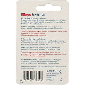 Blistex Sensitive Stick 4,25 g