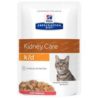 Hill's Prescription Diet Feline K/D Kidney Care Saumon 85 g
