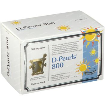 Pharma Nord D-Pearls 800 360 capsules