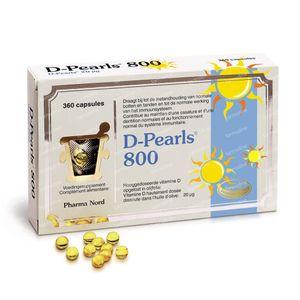 Pharma Nord D-Pearls 800 360  Capsule