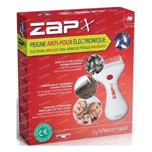 Visiomed Zap'X Z100 Peigne Anti-Poux Electronique 1 pièce