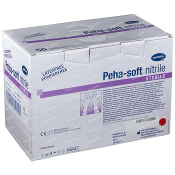 Hartmann Peha-Soft Nitrile Stérile S 942211 50 st