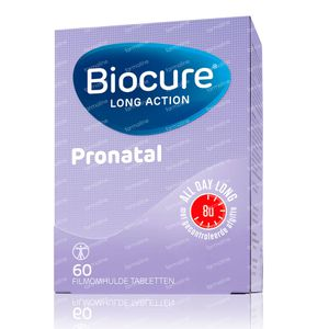 Biocure Pronatal Long Action 60 stuks Compresse
