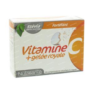 Nutrisanté Vitamine C+Royal Jelly 24 kaukapseln