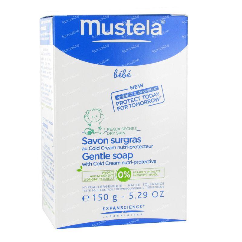 mustela b b savon surgras au cold cream 150 g commander ici en ligne. Black Bedroom Furniture Sets. Home Design Ideas