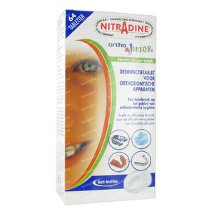 Nitradine Ortho & Junior 64 stuks Tabletten