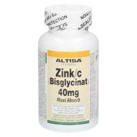 Altisa Zink Bisglycinat 40Mg 90  tabletten
