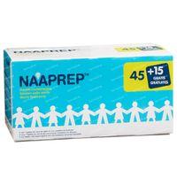 Naaprep Fysiologisch Water + 15 Ampoules GRATIS - voor Hygiëne bij Baby's en Kinderen 45+15x5 ml flacons