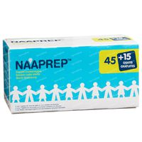 Naaprep Physiologisch Wasser + 15 Ampullen GRATIS 45+15x5 ml flakons
