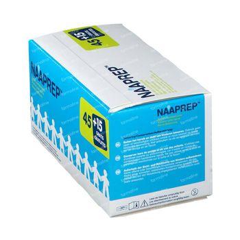 Naaprep Sérum Physiologique + 15 Ampoules GRATUITS - Nez, Yeux, Oreilles pour Bébés et Enfants 45+15x5 ml flacons