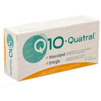 Q10-Quatral Immunité & Énergie - 1 Mois 2x28 capsules