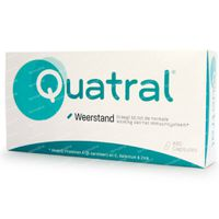 Quatral Weerstand - 2 Maanden 60  capsules