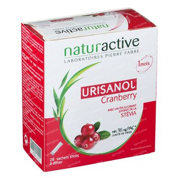 Elusanes Urisanol Cranberry Stick 28 st