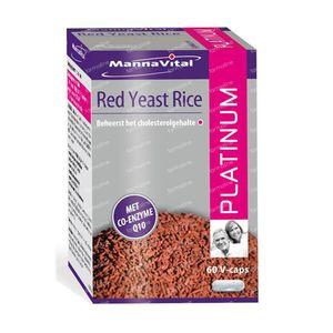 Rode rijst Q10 platinum 60 capsules