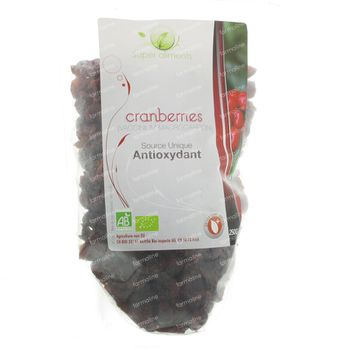 Super Aliments Canneberges 250 g