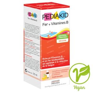 Pediakid Ferritine + Vitamine B 125 ml