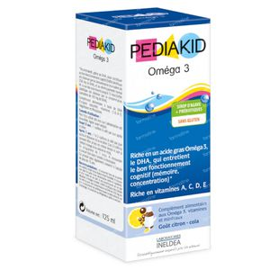 Pediakid Omega-3 Oplossing  125 ml